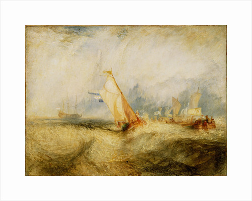 Van Tromp, going about to please his Masters, Ships a Sea, getting a Good Wetting by Joseph Mallord William Turner