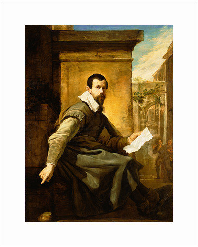 Portrait of a Man with a Sheet of Music by Domenico Fetti