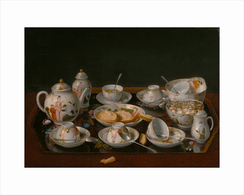 Still Life: Tea Set by Jean-Étienne Liotard