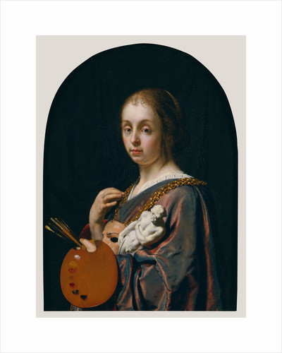 Pictura (An Allegory of Painting) by Frans van Mieris the Elder