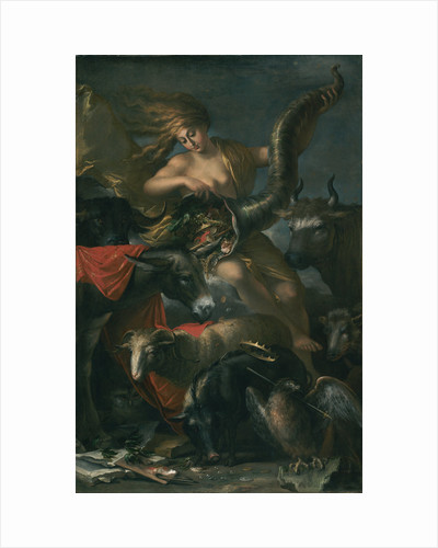 Allegory of Fortune by Salvator Rosa