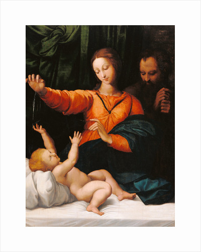 The Holy Family (The Madonna del Velo, Madonna di Loreto) by Raphael