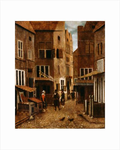 Street Scene by Jacobus Vrel