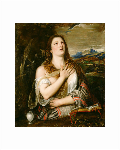 The Penitent Magdalene by Titian