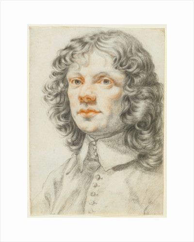 Portrait of a Man (recto), Portrait of a Man (accidental offset) (verso) by Filippo Baldinucci