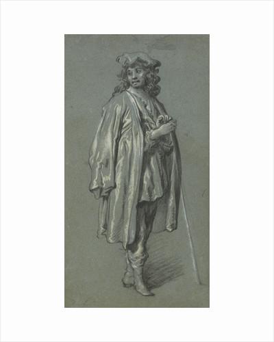 A Young Man Standing by Govaert Flinck