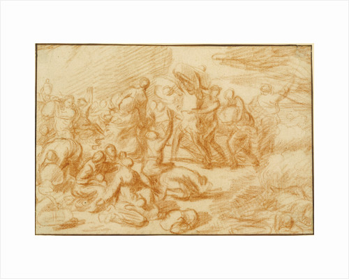 The Crossing of the Red Sea by Nicolas Poussin
