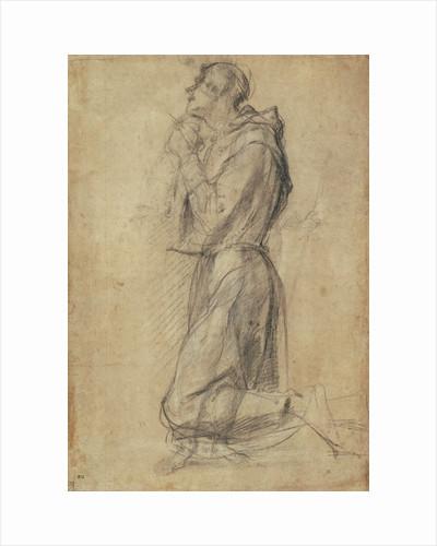 Saint Francis (recto), Dead Christ (verso) by Pontormo