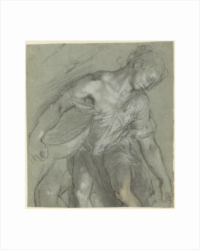 Figure Studies (recto), Figure Studies (verso) by Federico Barocci
