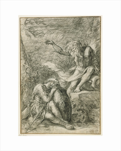 The Dream of Aeneas by Salvator Rosa