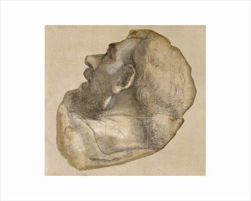 Cartoon for the Head of Saint James by Sebastiano del Piombo