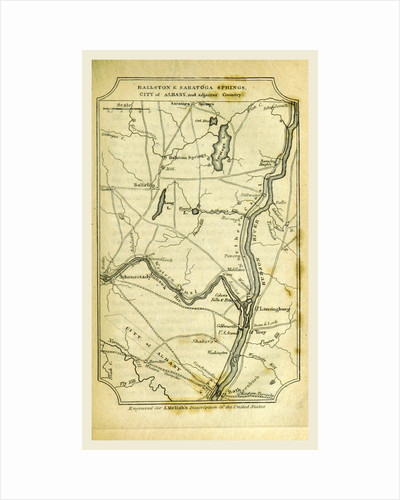 Ballston and Saratoga Springs, City of Albany by Anonymous