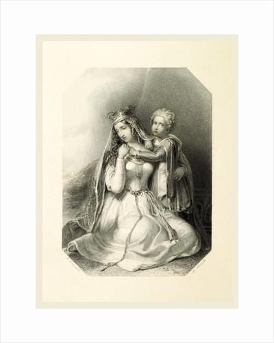 The Shakespeare Gallery, containing the principal female characters in the plays of the great poet by Anonymous