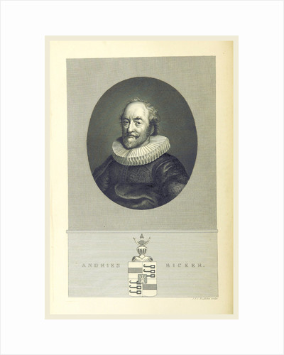 Dutch History Andries Bicker by Anonymous