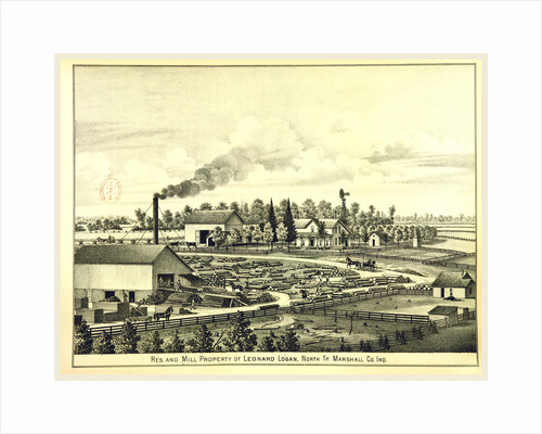 Mill, History of Marshall county, Indiana, 1836 to 1880 by Anonymous