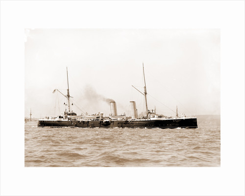 Magicienne, English ship, Magicienne (Ship), 1890 by Anonymous