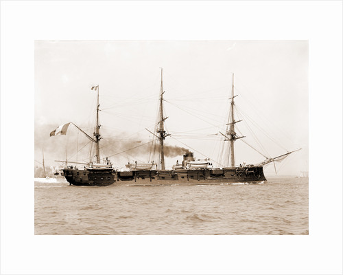 Arethuse, French ship, Arethuse (Ship), 1890 by Anonymous