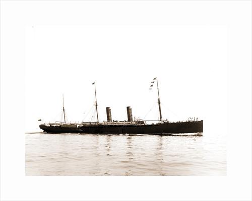 Steamer Servia, Cunard Line, Servia (Ocean liner), 1899 by Anonymous