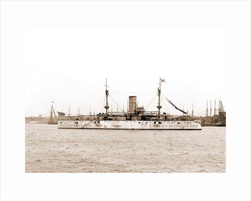 U.S.S. Texas, Texas (Battleship), 1895 by Anonymous