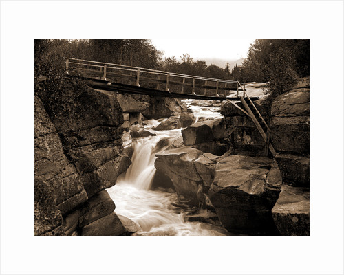 Upper falls of the Ammonoosuc, White Mountains by Anonymous