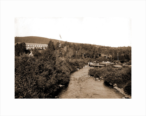 Ammonoosuc River and Twin Mountain House, White Mountains by Anonymous