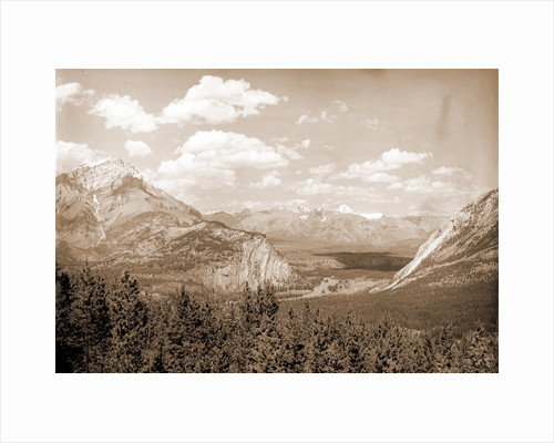 Down Bow Valley from Upper Spring, Banff by Anonymous