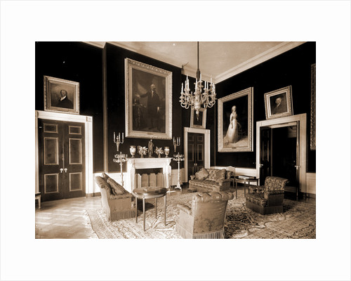 The Red Room, White House by Anonymous