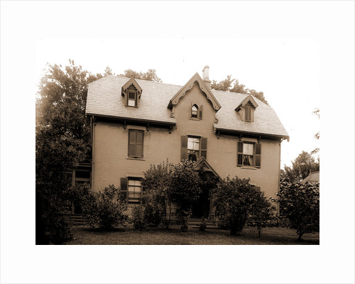 Harriet Beecher Stowe's residence, Hartford by Anonymous