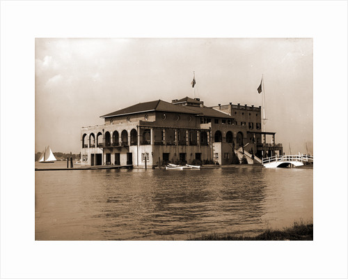 Detroit Boat Club, Belle Isle Park by Anonymous