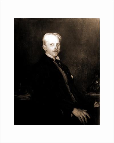 Edward Robinson, half-length portrait, Tarbell, Edmund Charles, 1862-1938 by Edward Robinson