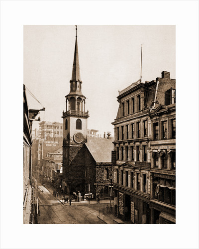 The Old South Church Old South Meeting House, Boston by Anonymous