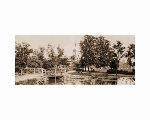 Casino from the lily pond, Belle Isle Park by Anonymous