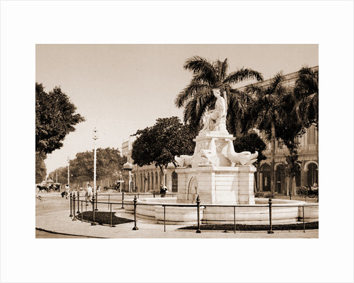 Pila de la India, Habana by William Henry Jackson