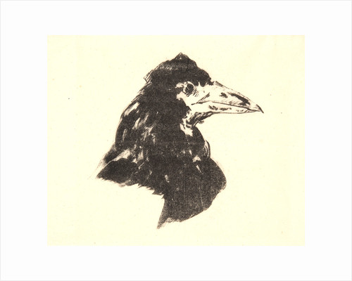 The Raven (Le corbeau): Design for the cover, 1875 by Édouard Manet