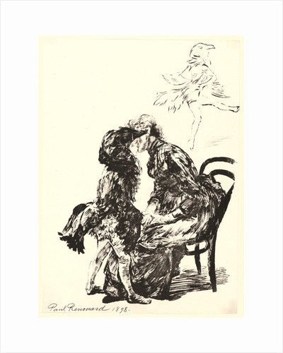 Avant le Ballet, 1898 by Charles Paul Renouard
