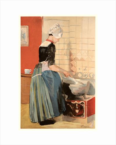 The Servant (La Servante), ca. 1899 by Ferdinand Luigini