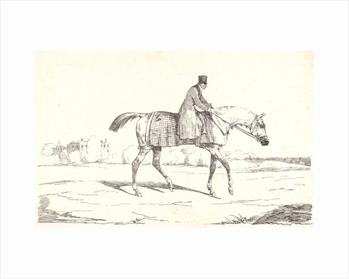 English Jockey (Jockey anglais), 1820 by Théodore Géricault