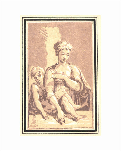 Madonna and Child, 18th century by Antonio Maria Zanetti I