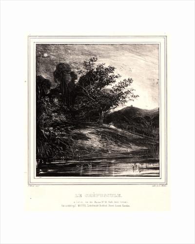 Dusk (Le Crépescule), 1829 by Paul Huet