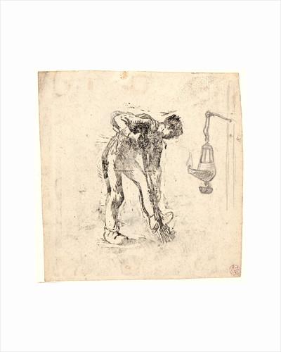 Peasant Digging (Bêcheur au travail), ca. 1863 by Jean-François Millet