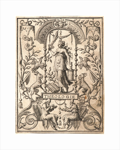 Theology (La Théologie), 16th century by Etienne Delaune