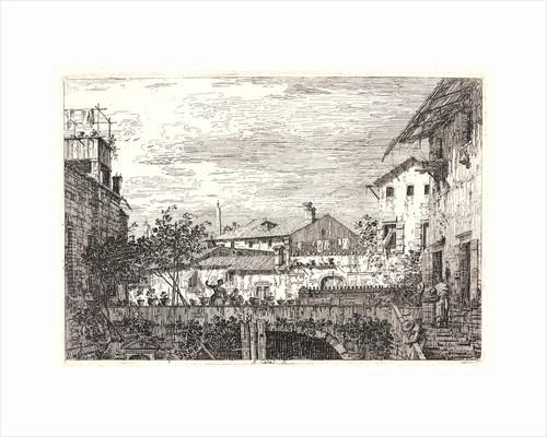 The Terrace (La Terrasse), 18th century. by Canaletto