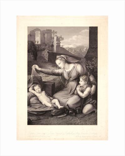 Madonna of the Veil (La Vierge au Linge), 19th century by Auguste Gaspard Louis Desnoyers