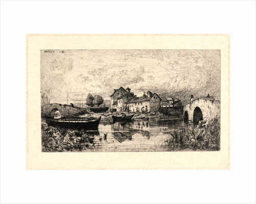 Etching. by Adolphe Appian