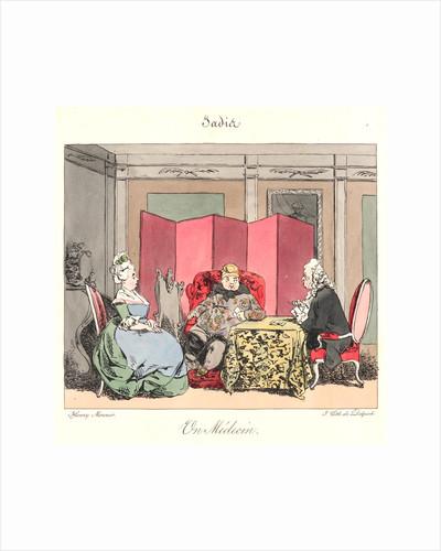 Un Medecin (Jadis), 1829 by Henry Bonaventure Monnier