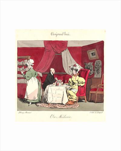 Un Medecin (Aujourd'hui), 1829 by Henry Bonaventure Monnier