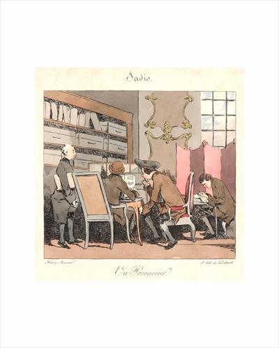 Un Procureur (Jadis), 1829 by Henry Bonaventure Monnier