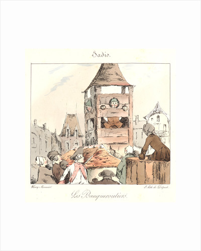 Banqueroutiers (Jadis), 1829 by Henry Bonaventure Monnier
