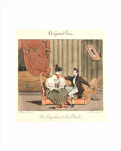 Le Complement des Etudes (Aujourd'hui), 1829 by Henry Bonaventure Monnier