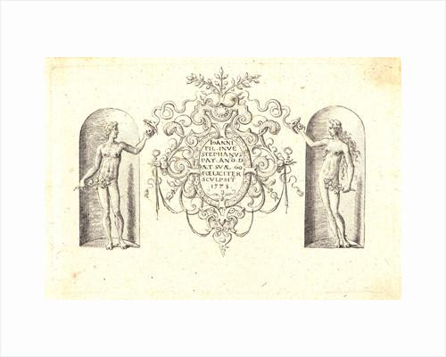 Several Gods of Classical Antiquity (Plusieurs Divinités de l'Antiquiteé Paienne), 1578 by Etienne Delaune